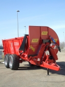 Manure spreaders with Front lateral spreading of 140 q.li - 200q.li