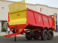 Manure spreaders with rear spreading of 50q.li a 100 q.li